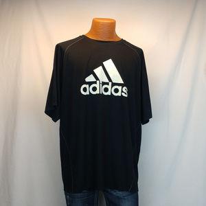 Adidas ClimaLite Black Short Sleeve T-Shirt